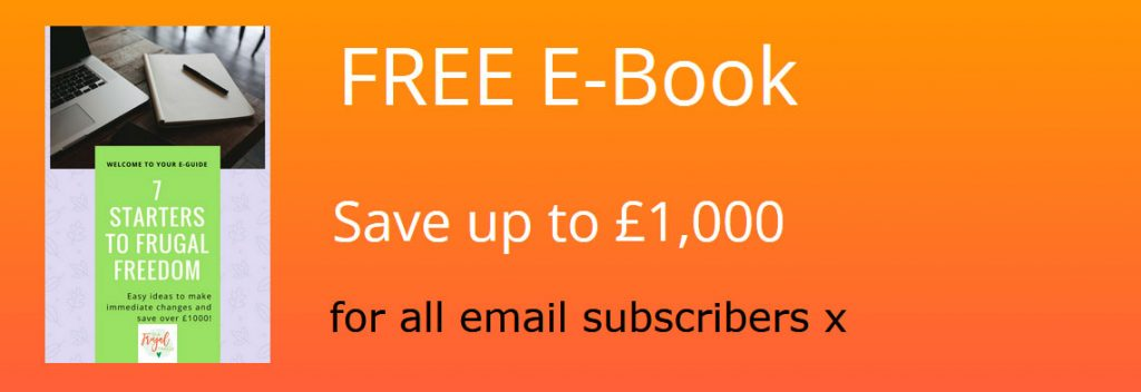 You can get 7 Starters for Frugal Freedom from https://www.thefrugalfamily.co.uk/