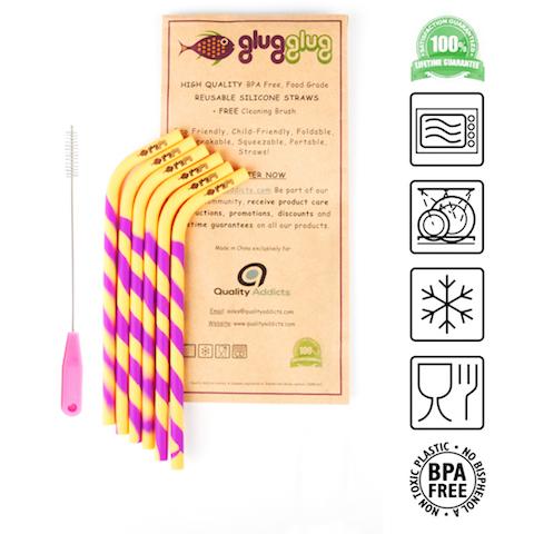 glug glug straws