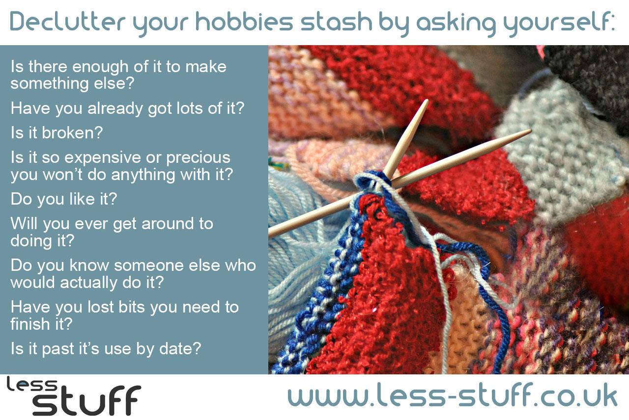 declutter-hobbies-less-stuff