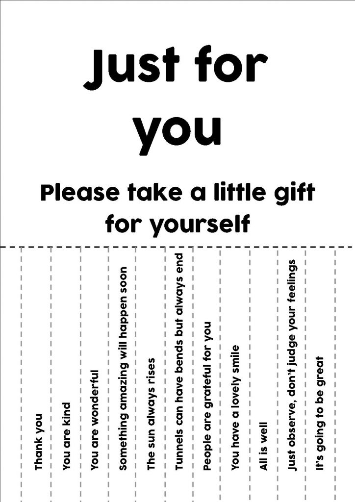 just for you print off poster