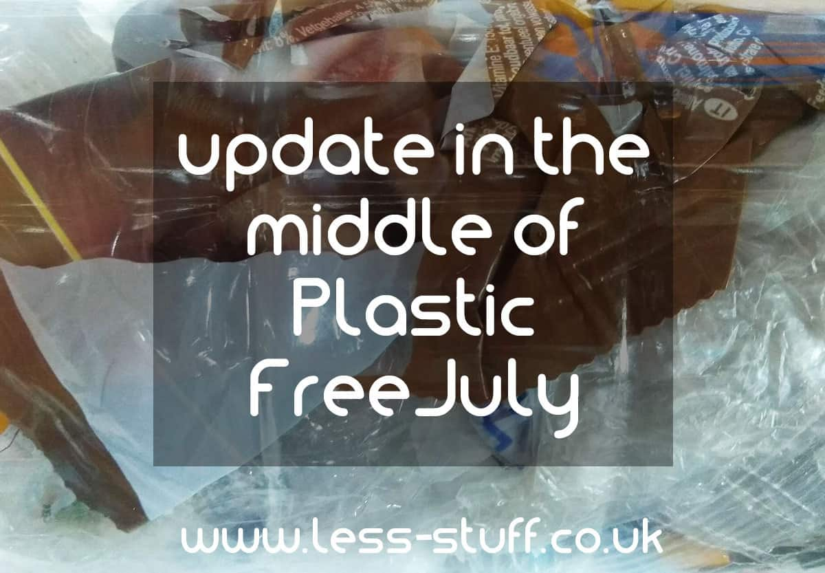 in the middle of plastic free july