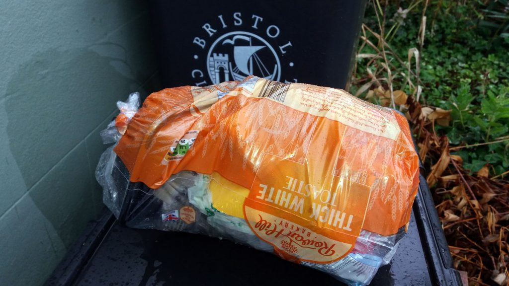 plastic free july landfil for week 4