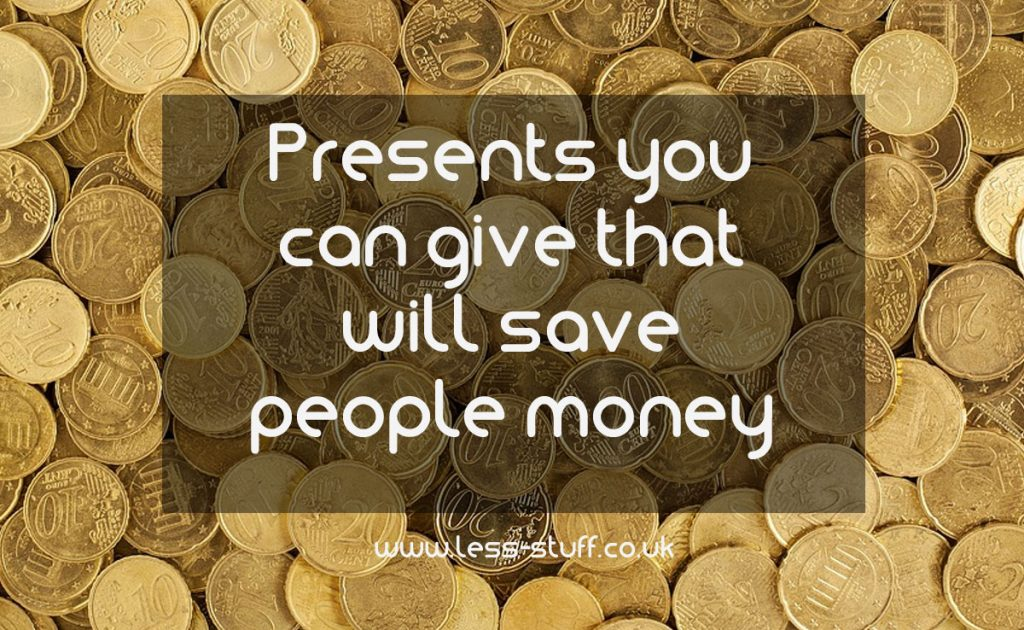 money saving presents